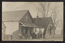 RP Postcard AKRON/BRITTAIN OH  General Store/Post Office-School /Church? 1910s