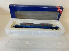 More details for heljan 17005108 cargowaggon flat wagon with load