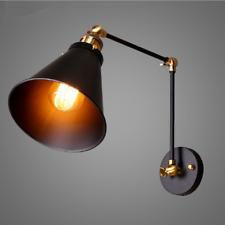 Industrial Retro Adjustable Swing Arm Light Wall Sconce Lamp Indoor E27 Decor UK