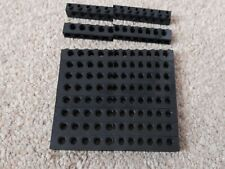 10 x LEGO TECHNIC 1x10 BRICKS WITH 9 PEG HOLES BLACK  2730 OTHER COLOURS AVAIL