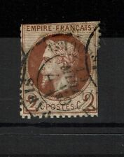 France SC# 39 or 39a?, Used, center thin, mixed condition, Hinge Remnant - S1482