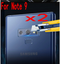 2 X Rear Camera Lens Tempered Glass Protector For Samsung Galaxy Note 9