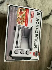 BLACK+DECKER 6-Slice Convection Countertop Toaster Oven, Stainless Steel/Blackr