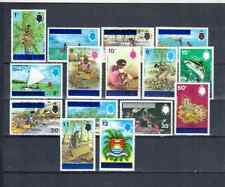 TUVALU DEFINITIVE SET 1976  OVERPRINT  MNH