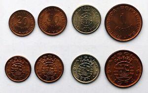 Münze Angola/Portuguesa - 4 Münzen
