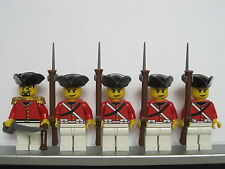 Lego PIRATES NAPOLEONIC WARS BRITISH Colonial Infantry Soldiers MINIFIGS