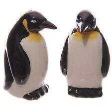 Penguin sel et poivre Cruet Set shakers pots gâteau mignon noël table en céramique