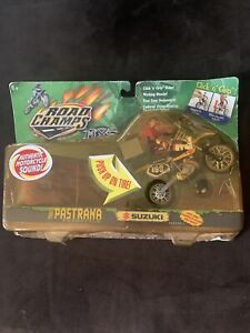2000 Road Champs Travis Pastrana Freestyle Suzuki MX Action Figure
