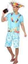 Déguisement Homme HAWAI Bleu XL Costume Hawaïen Hawaii Iles Vacances NEUF