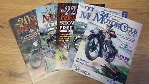 5 x CLASSIC MOTORCYCLE SHOW GUIDE - STAFFORD BIKE SHOW -2000 2001 2002 2003 2004