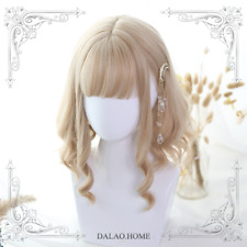 Sweet Dolly Elra Roman Curly Hair Cosplay Wig Lolita Mixed Harajuku Mori Girl