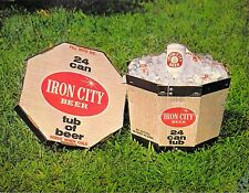 Iron City Beer tub Advertising Brewery Pittsburgh, Pa -postcard 5.5x7
