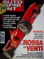 Autosprint 5 1999 Speciale monoposto di Maranello. F1: Ferrari F399 e Williams