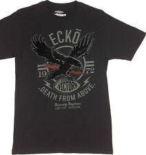 ECKO. Unltd. DEATH From ABOVE. 100% Cotton Men's BLACK T-Shirt. Sizes XS & S.