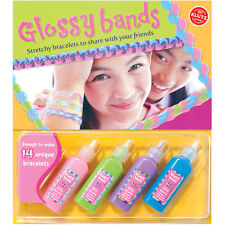 GLOSSY BANDS - MAKE STRETCHY BRACELETS TO SHARE WITH YOUR FRIENDS - KLUTZ KIT