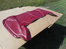 Ford Convertible Top Boot Red 1967 1968