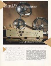 Conrad Johnson Premier 18LS Preamp Brochure