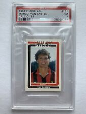 Rare 1987 Marco Van Basten Sticker Euroflash Calcio 88 PSA Graded No Panini