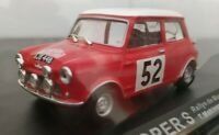 1/43 BMC MINI COOPER RALLYE DE MONTECARLO 1965 T. MAKINEN COCHE ESCALA DIECAST