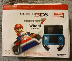 Nintendo 3DS Mario Kart Steering Wheel Opened But Brand New