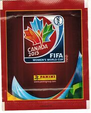 Canada 2015 Panini Women`s World Cup Soccer Sticker Pack