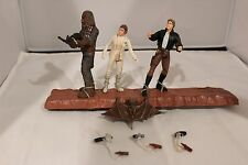 STAR WARS Mynock Hunt Cinema Scene POTF Han Leia Chewbacca C-10 Loose