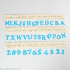 FMM Art Deco Alphabet & Numbers Cutter Set Sugarcraft Cake Decorating