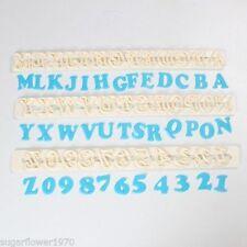 FMM Art Deco Alphabet & Numbers Cutter Set Sugarcraft Cake Decorating