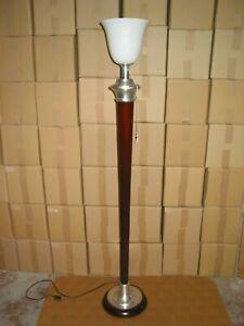 Lampe MAZDA lampadaire haut de 1 Mètre 75 . Art déco vintage design industriel F
