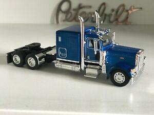 """1/64 DCP BLUE PETERBILT 389 60"""" BUNK 3270"""" FRAME (5 5/8"""" long)"""
