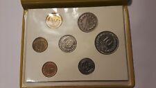 El Salvador 1970-1974 Mint Set Banco Central De Reserva Rare And Uncommon