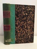 Dizionario Enciclopedico Delle Sciences Vista Volume Trenta Secondi 1885