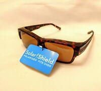 Foster Grant Solar Shield Sunglasses Polarized Fit Over M/L Frame