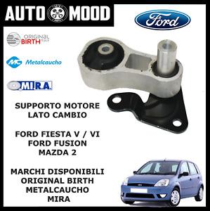 SUPPORTO MOTORE INFERIORIE LATO CAMBIO FORD FIESTA V VII FUSION 1.4 1.6 TDCI