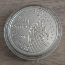 Pièce de 10 euros, BELGIQUE, 2015 sous capsule, Waterloo 1815-2015