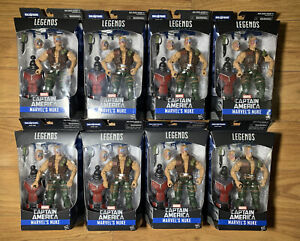 Nuke Marvel Legends Lot x8 Army Builder Captain America Villain NEW