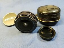 ASAHI f/4 17mm FISH-EYE-TAKUMAR LENS w/CAPS and CASE FOR PENTAX M42 BODIES