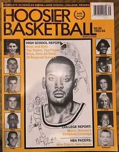 1992-1993 Hoosier Basketball Magazine - Indiana High School And College