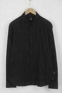 JUST CAVALLI Men's (EU) 56 or ~XL Button Down Hide Buttons Fitted Shirt 26824_JS