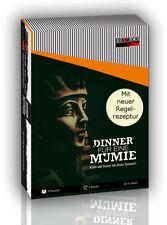 Dinner für eine Mumie (Krimi-Küche) Dinner-Spiel 6 Personen Krimi-Essen Mord