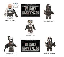 Legolike Star Wars The Bad Batch Clone Force 99 minifigure 5Pcs set New