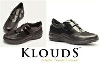 Klouds shoes Orthotic friendly comfort leather strap dress shoes Klouds Bryanna