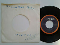 "The Stylistics / Rockin' Roll Baby 7"" Single Vinyl 1973 mit Schutzhülle"