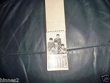 THE BEATLES ORIGINAL OFFICIAL CALENDAR FOR 1964 COMPLETE AWESOME CONDITION !