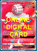 1X Blacephalon GX 199/214 Online Card Pokemon Card TCG PTCGO Digital Card