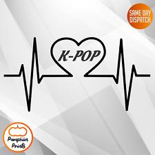 k-POP Love - KPOP - STICKER - VINYL - fandom kpop bts monster x ideal for laptop