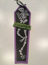 Glitter Skeleton Hanging Halloween Decor Haunted