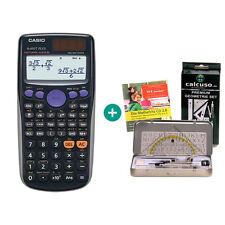 Casio fx 85 GT plus negro calculadora + geometrieset y mathefritz aprender CD