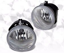 Fits 05-10 Chrysler 300C Fog Lights 5.7L Front Bumper Lamps PAIR Clear Lens!