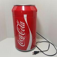 Coca Cola Coke Can Mini Fridge Refrigerator Koolatron Counter Top Cooler Soda